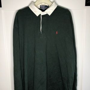 Polo Ralph Lauren rugby polo size XL vintage